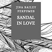 Духи ручной работы. Ярмарка Мастеров - ручная работа Sandal in Love, eau de parfum. Handmade.