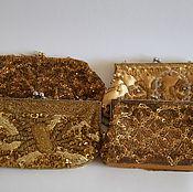 Винтаж handmade. Livemaster - original item Vintage handbag/clutches from the 1960-ies/ Hong Kong. Handmade.