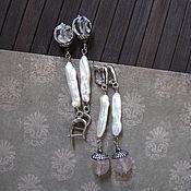 Украшения ручной работы. Ярмарка Мастеров - ручная работа Серьги. Амели.. Handmade.
