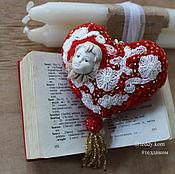 Для дома и интерьера ручной работы. Ярмарка Мастеров - ручная работа Мягкое сердце 1. Handmade.