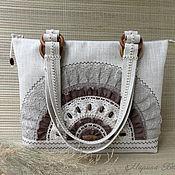 Сумки и аксессуары handmade. Livemaster - original item Linen bag Sunny summer. Handmade.