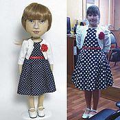 Куклы и игрушки ручной работы. Ярмарка Мастеров - ручная работа Кукла с портретным сходством.. Handmade.