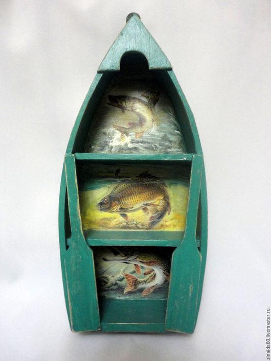 Прихожая ручной работы. Ярмарка Мастеров - ручная работа. Купить Панно Лодка. Handmade. Морская волна, панно в детскую, Распечатки