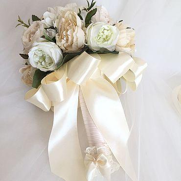 Свадебный салон ручной работы. Ярмарка Мастеров - ручная работа Букет дублёр «Белый сад». Handmade.