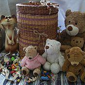 Для дома и интерьера ручной работы. Ярмарка Мастеров - ручная работа Большой короб для хранения игрушек. Handmade.