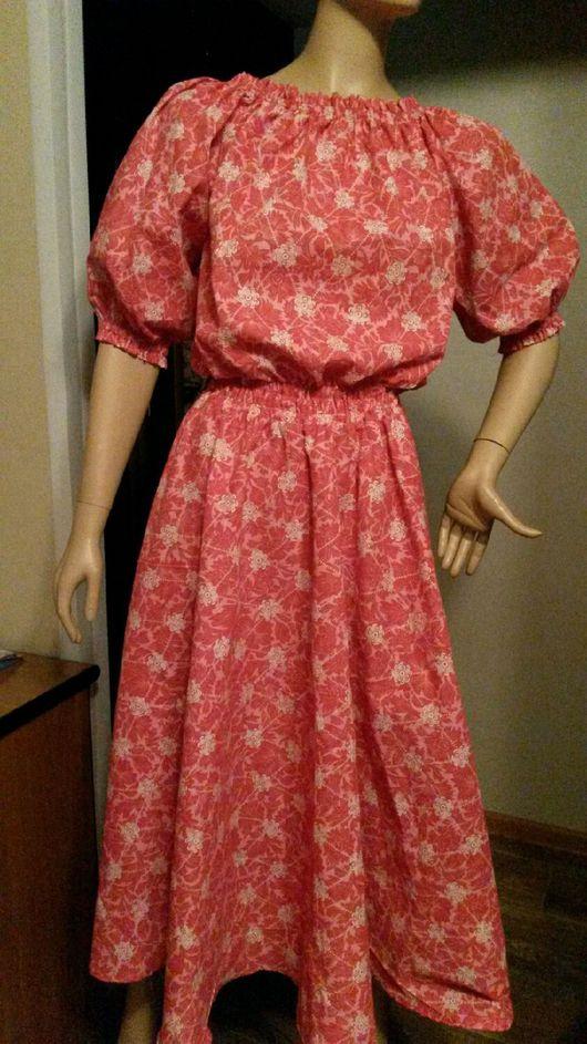 """Платья ручной работы. Ярмарка Мастеров - ручная работа. Купить Платье """"Узоры"""".. Handmade. Платье, платье на заказ, платье с рукавами"""