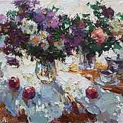 Картины и панно handmade. Livemaster - original item Autumn flowers Still Life Original oil painting. Handmade.