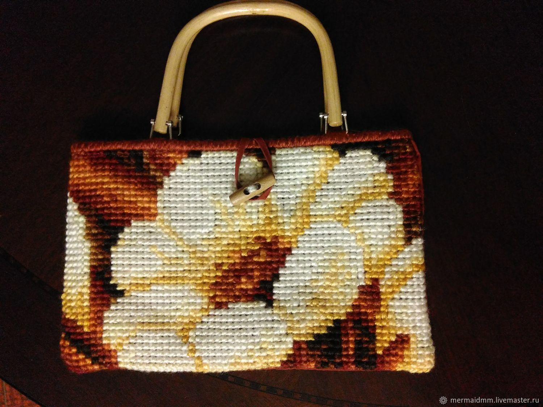 Beige flower, Classic Bag, Moscow,  Фото №1