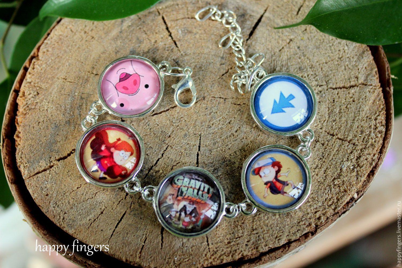 Bracelet Gravity Falls, Gravity Falls, Chain bracelet, Elektrostal,  Фото №1