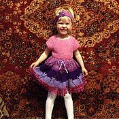 Работы для детей, ручной работы. Ярмарка Мастеров - ручная работа Детское платье Сирень. Handmade.