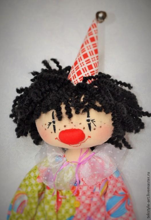 Коллекционные куклы ручной работы. Ярмарка Мастеров - ручная работа. Купить Цирковой клоун. Handmade. Разноцветный, цирк