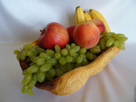 Конфетницы, сахарницы ручной работы. Ярмарка Мастеров - ручная работа. Купить Ваза для фруктов и овощей из яблони. Handmade. Комбинированный, свадьба