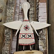 Елочные игрушки ручной работы. Ярмарка Мастеров - ручная работа Елочные игрушки: Рождественский ангел. Handmade.