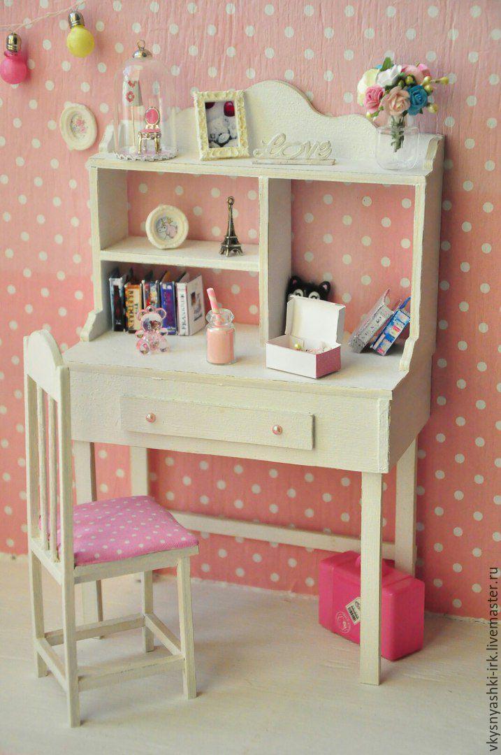 """Набор мебели для куклы """"Письменный стол и стул"""", , Иркутск, Фото №1"""