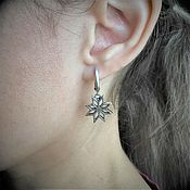 Русский стиль handmade. Livemaster - original item Earrings