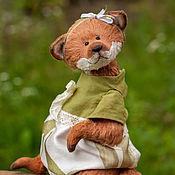 Куклы и игрушки ручной работы. Ярмарка Мастеров - ручная работа Забава. Тедди лиса. Handmade.
