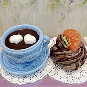 Косметика ручной работы handmade. Livemaster - original item Soap Set Coffee and cake. Handmade.
