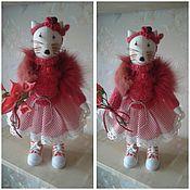 Куклы и игрушки ручной работы. Ярмарка Мастеров - ручная работа Кошка Олли. Handmade.