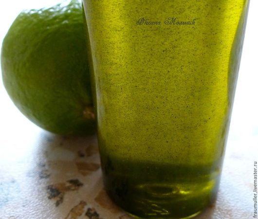 """Для снятия макияжа ручной работы. Ярмарка Мастеров - ручная работа. Купить Гидрофильное масло для умывания """"Зеленая волна"""". Handmade."""