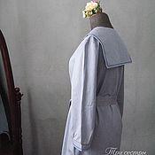 """Одежда ручной работы. Ярмарка Мастеров - ручная работа Платье """"Васильковое с синим"""". Handmade."""