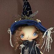 Куклы и игрушки ручной работы. Ярмарка Мастеров - ручная работа Ведьмочка -волшебница. Handmade.