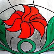 Для дома и интерьера handmade. Livemaster - original item A stained glass window. Partition. Handmade.