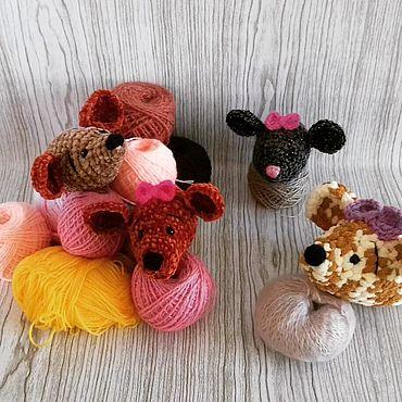Куклы и игрушки ручной работы. Ярмарка Мастеров - ручная работа Мягкие игрушки: Мышки. Handmade.