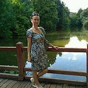 Одежда ручной работы. Ярмарка Мастеров - ручная работа Платье лето. Handmade.