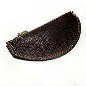 Сумки и аксессуары handmade. Livemaster - original item Gift bag ,Coin - key holder - Small cosmetic bag leather. Handmade.