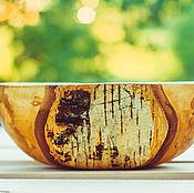 Посуда handmade. Livemaster - original item Large wooden salad bowl. Handmade.