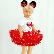 Одежда handmade. Livemaster - original item Set Minnie Mouse. Handmade.