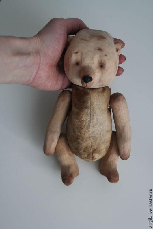 Игрушки животные, ручной работы. Ярмарка Мастеров - ручная работа. Купить Деревянный мишка. Handmade. Коричневый, деревянный медведь, деревянный