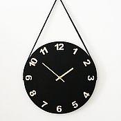 Часы классические ручной работы. Ярмарка Мастеров - ручная работа Интерьерные часы в скандинавском стиле. Handmade.