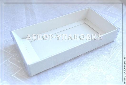 Упаковка ручной работы. Ярмарка Мастеров - ручная работа. Купить Коробка с прозрачным верхом, 15Х7,5Х2,5 см. Handmade.