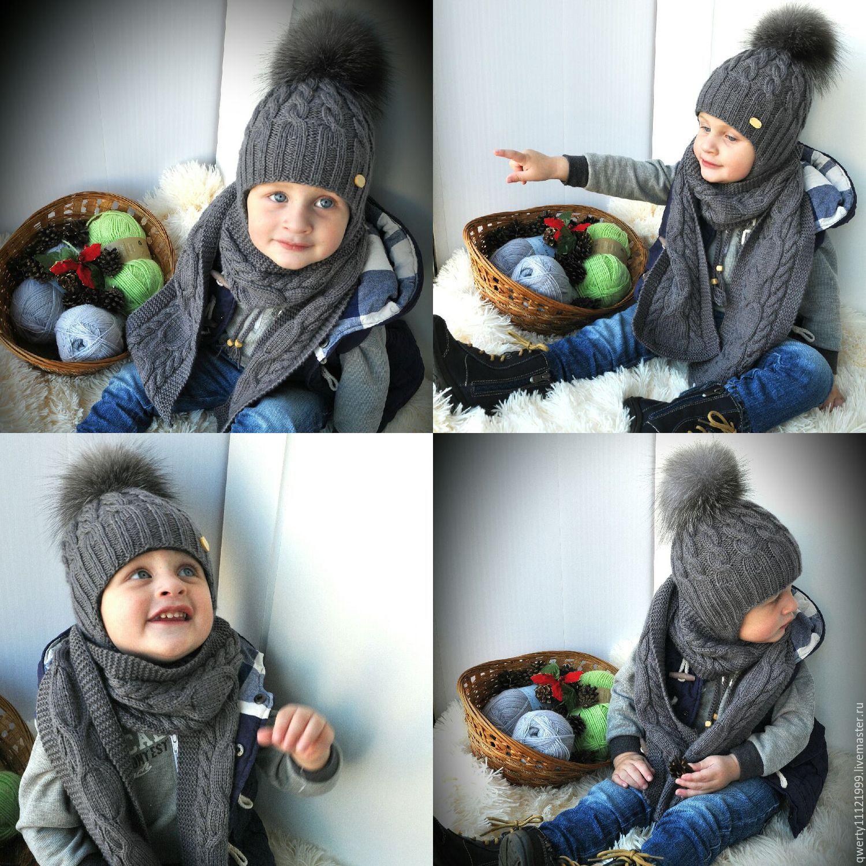 Своими руками шапка на зиму для мальчика