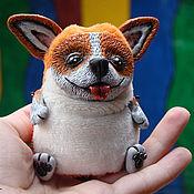 Куклы и игрушки ручной работы. Ярмарка Мастеров - ручная работа Вельш корги пемброк. Handmade.