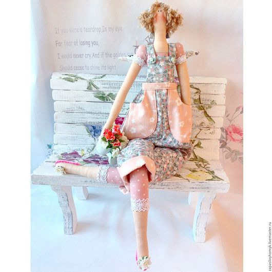 Куклы и игрушки ручной работы. Ярмарка мастеров - ручная работа. Купить Тильда садовница. Тильда `Огородный ангел` или `Садовница`. Кукла Тильда. Handmade