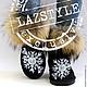 """Обувь ручной работы. Эксклюзивные Ugg's """"Snowflake"""". Art_Boutique 'LazStyle'. Ярмарка Мастеров. Угги в стразах, ugg, чешское ювелирное стекло"""