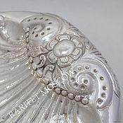 Винтаж ручной работы. Ярмарка Мастеров - ручная работа РАРИТЕТИЩЕ Ваза ракушка большая серебрение 4. Handmade.