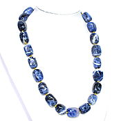 Украшения handmade. Livemaster - original item Necklace/beads from natural sodalite. Handmade.