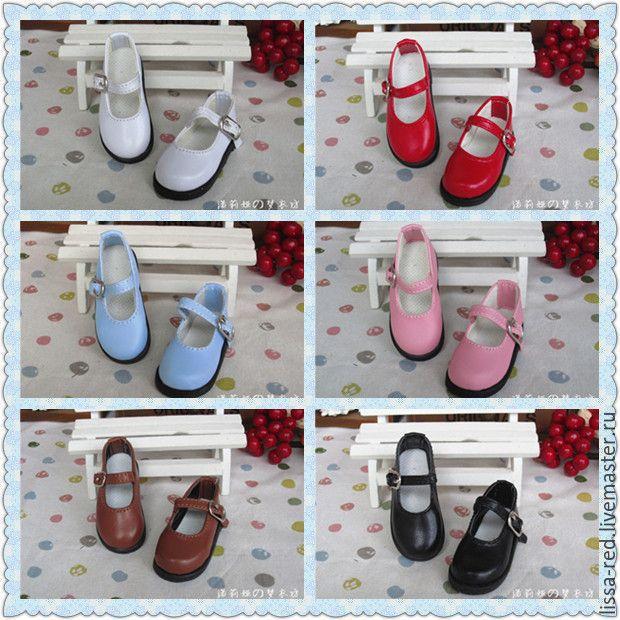 Обувь для кукол. Туфли  длина 6,3 см В НАЛИЧИИ, Куклы и игрушки, Тосно, Фото №1