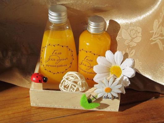 """Пена, молочко для ванны ручной работы. Ярмарка Мастеров - ручная работа. Купить Гель для душа """"Радужный апельсин"""" 50 мл. Handmade."""