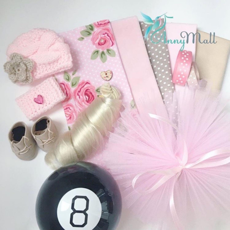 Набор для создания куклы «Романтичное настроение», Материалы для кукол и игрушек, Одинцово,  Фото №1