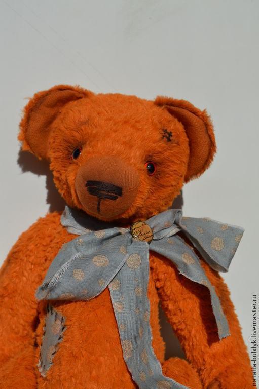 Мишки Тедди ручной работы. Ярмарка Мастеров - ручная работа. Купить Teddy Puh. Handmade. Разноцветный, оранжевый, мишка тедди