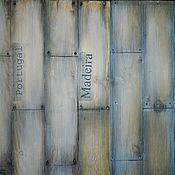 Для дома и интерьера ручной работы. Ярмарка Мастеров - ручная работа Панно деревянное. Handmade.