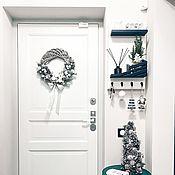 Для дома и интерьера handmade. Livemaster - original item Housekeeper black and white. Handmade.