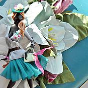 """Украшения ручной работы. Ярмарка Мастеров - ручная работа комплект: брошь """"Амалия"""",клатч. Handmade."""
