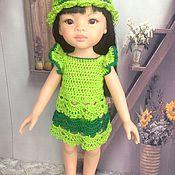 Куклы и игрушки ручной работы. Ярмарка Мастеров - ручная работа яркий наряд для паолочки. Handmade.