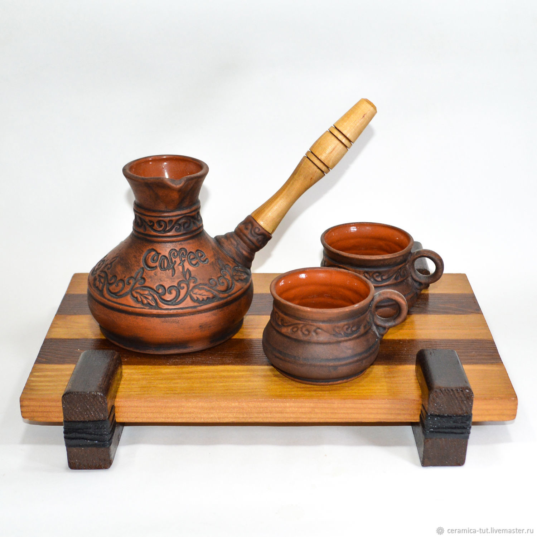 Турка с чашками и поднос, Турки, Королев,  Фото №1