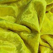 Материалы для творчества ручной работы. Ярмарка Мастеров - ручная работа Плюш Желтый. Handmade.